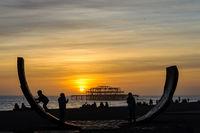 Brighton West Pier, UK