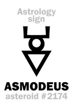Astrology: asteroid ASMODEUS
