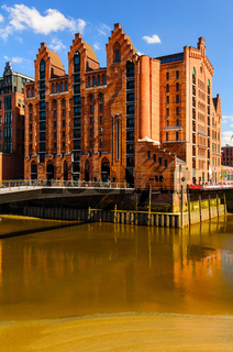 view of Hamburg, Germany