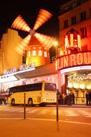 The Moulin Rouge cabaret
