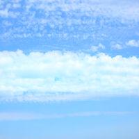 Strip of clouds