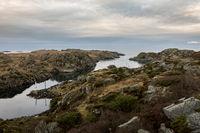 The strait between Rovar and Urd, two islands in The Rovaer archipelago in Haugesund, in the norwegian west coast.