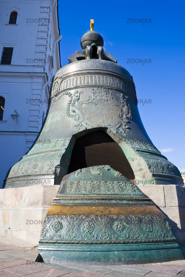 The largest Tsar Bell in Moscow Kremlin