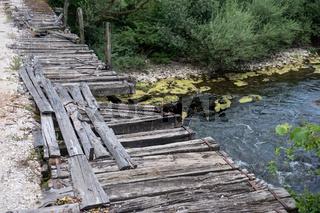 Brücke über den Fluss Sana, Bosnien