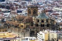 Granada cathedral view