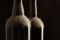 Vintage wine - Dusty bottles