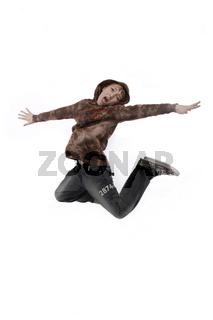 Junge springt wd709
