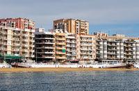 Beach Los Locos in the Torrevieja resort city. Spain