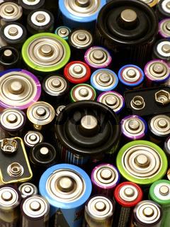 Batterien / batteries