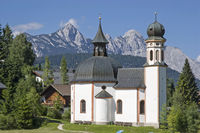 Seekirchl chapel in Seefeld in Tyrol