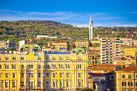 City of Rijeka landmarks view