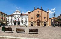 The Centre Of Asti. Italy