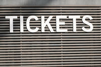 tickets - ticket counter