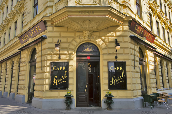 oldvienna cafe Sperl in Vienna, Austria