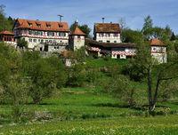 swabian alb; germany; castle Niederundelfingen
