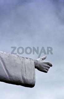 Christusstatue in Ilhéus, Bahia, Brasilien, Südamerika
