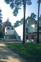 Bauhaus style architecture in Dessau