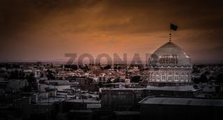 Panorama of Kashan