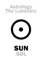 Astrology: Luminary SUN (SOL)