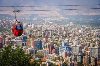 Santiago de Chile cable car