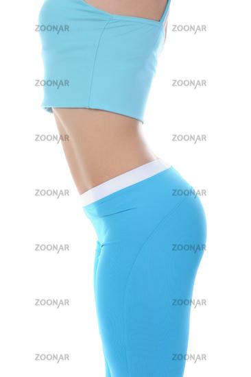 Sports figure of a yong women.