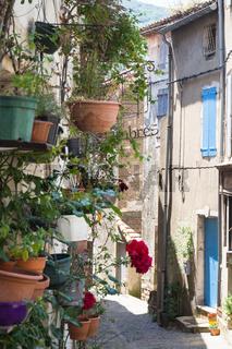 Straßenszene Südfrankreich