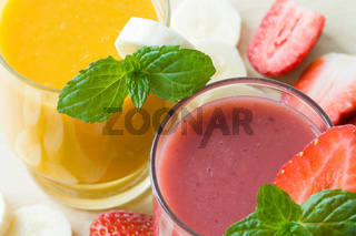 Frucht Smoothie - Fruit Smoothie