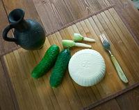 Caucasian  cheese sulguni