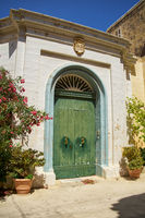 The one of the cozy houses of Mdina, the old capital of Malta.