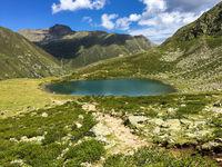 Mountaine Lake, Kühtai, Ötztal, Tirol, Austria