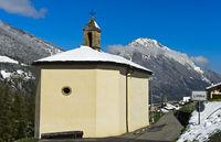 Denkmalgeschützte Barockkapelle St Etienne