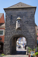 The medieval Gutgesellentor in Old Breisach