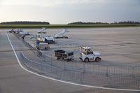 airport Frankfurt-Hahn, Rhineland-Palatinate, Germany, Europe