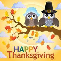 Happy Thanksgiving theme 4