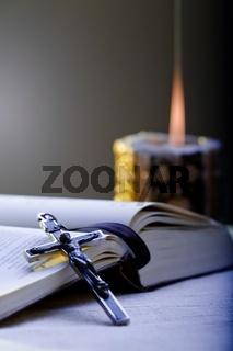 Cross and Prayer-book