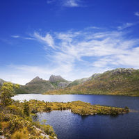 Cradle Mountain and Dove Lake Tasmania Australia