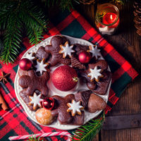 fresh and tasty Christmas gingerbread