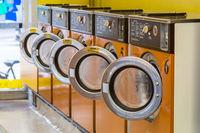 Laundromat Washing machines
