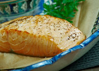 Trout steamed