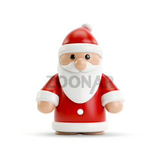 a sweet little Santa Clause figure