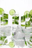 Mojito cocktails
