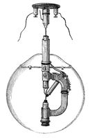 Reynier'sche Lamp, by E. Reynier, a French inventor