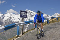 Bike tour on the Grossglockner High Alpine Road