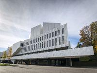 Finlandia Hall landmark building in helsinki city finland