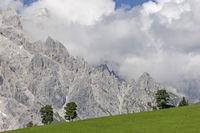 landscape at Hochkoenig