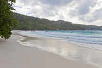 Dream beach on Seychelles