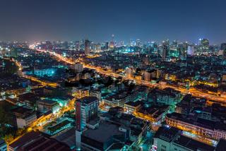 Bangkok city skyline - Thailand