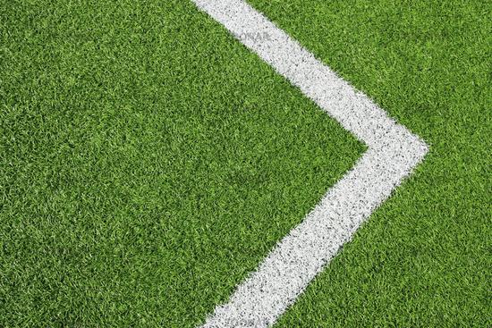 Football Field Detail Lawn & Right Arrow