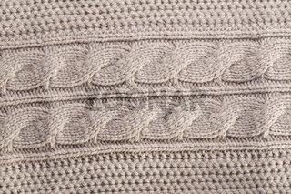 knitted sweater background
