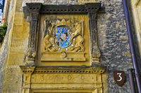 Coat of arms of Leonor d'Orleans, Duke of Longueville and Count of Neuchatel, Neuchatel castle